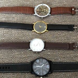 Collection of four watches like new